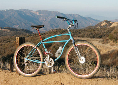 klunker - pierwszy rower MTB
