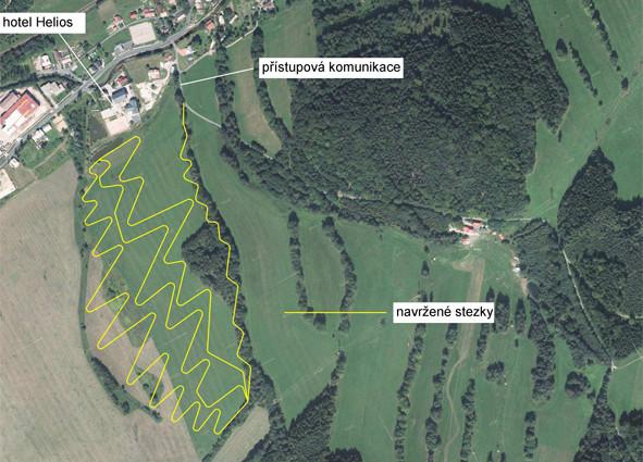 Lipowskie Ścieżki enduro mapa tras Helios