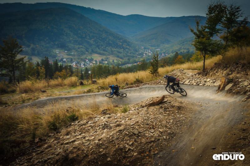 Ścieżki Enduro Trails Bielsko - Twister banda widok