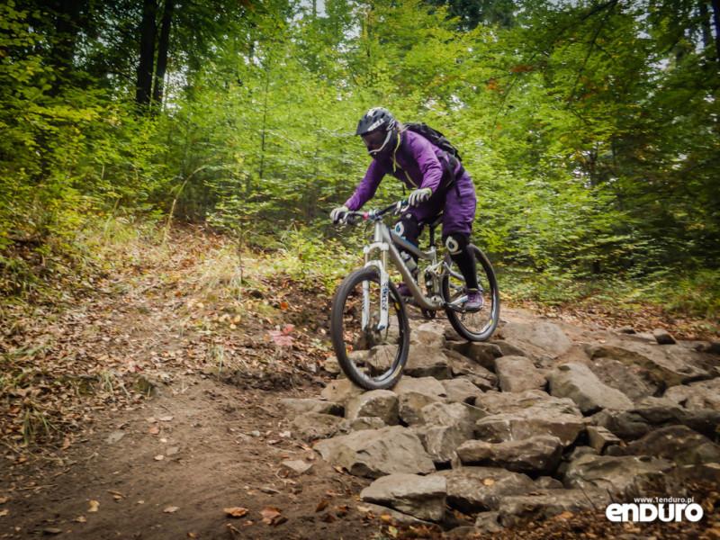 Ścieżki Enduro Trails Bielsko - Stary Zielony rockgarden