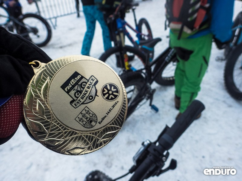 Bike Race Góry Stołowe medal