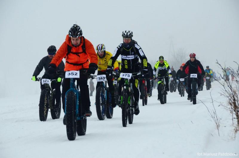 Fat Bike Race Góry Stołowe peleton