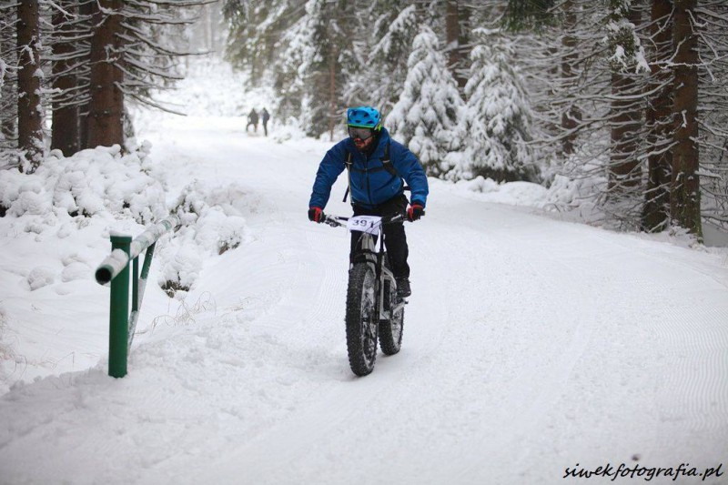 Fat Bike Race Góry Stołowe Michał Lalik