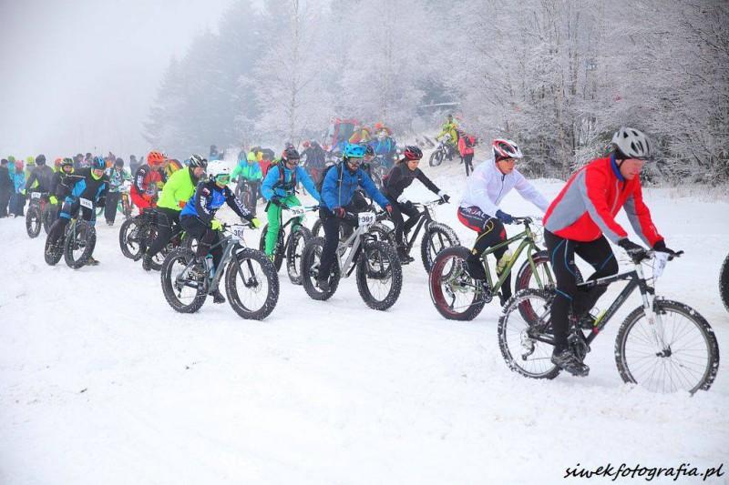 Fat Bike Race Góry Stołowe grupa