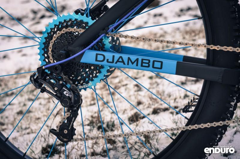 NS Bikes Eccentric Djambo - napęd SRAM GX 1x10, kaseta PG-1020