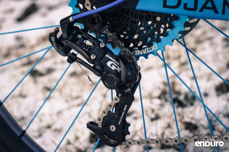 NS Bikes Eccentric Djambo - przerzutka SRAM GX 1x10