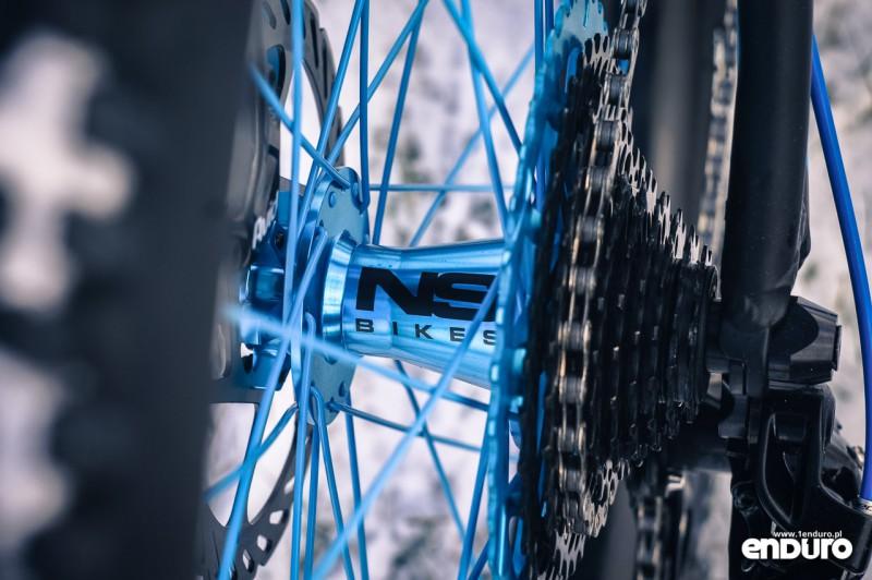 NS Bikes Eccentric Djambo - piasta Rotary Casette Boost