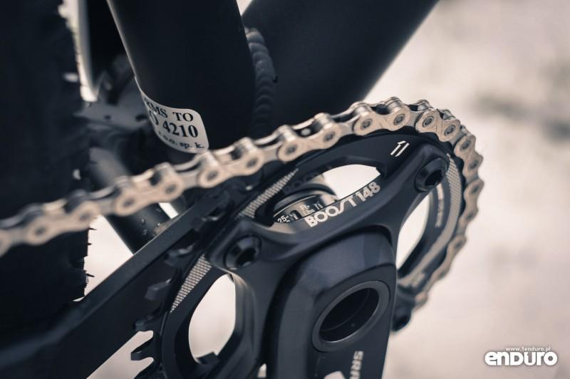 NS Bikes Eccentric Djambo - korba SRAM GX-1000 Boost