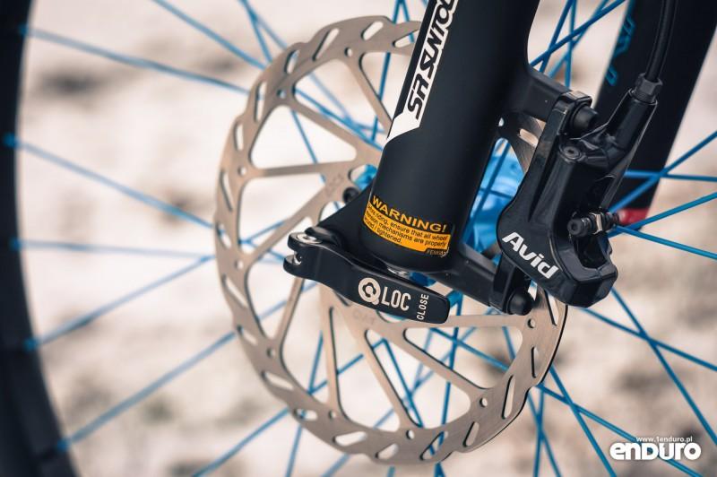 NS Bikes Eccentric Djambo - Suntour Q-Loc, SRAM DB-3