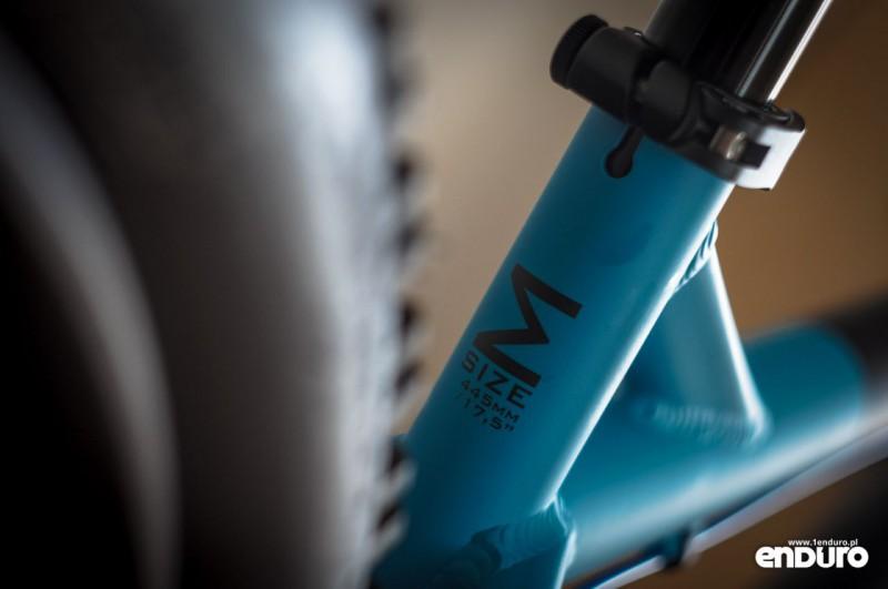 Jak wybrać rozmiar ramy roweru enduro