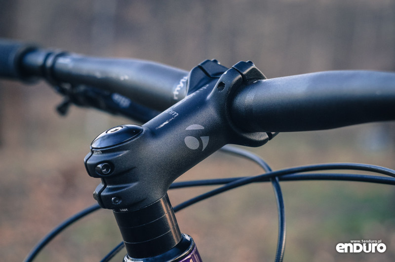 Trek Stache 7 - Bontrager 90 mm stem