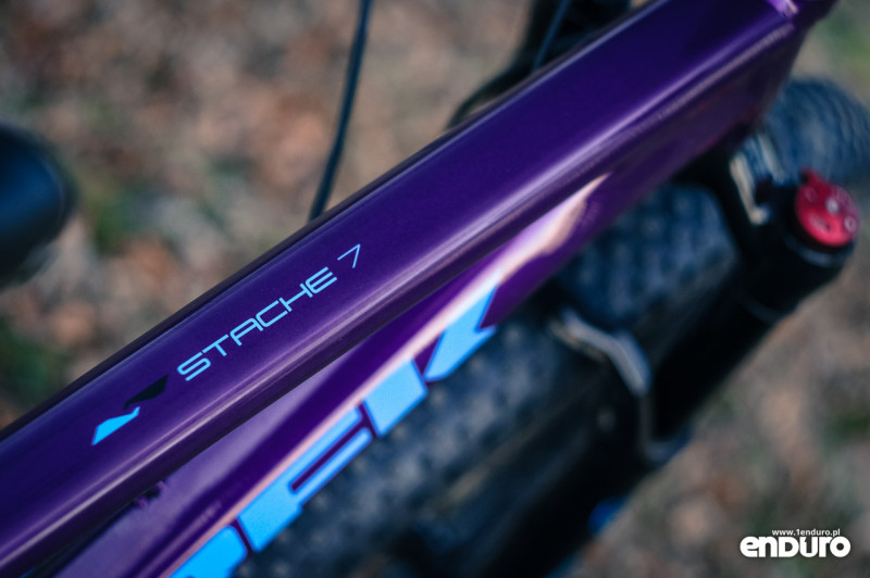 Trek Stache 7 - frame colour