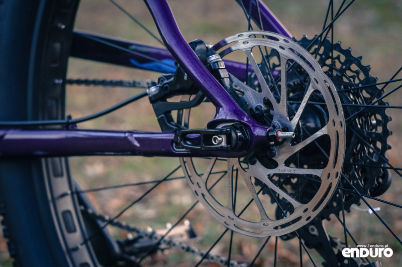 Trek Stache 7 - SRAM DB5 brake and dropout