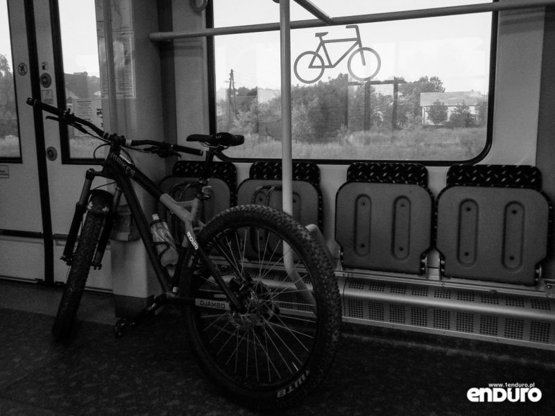 Przewóz roweru w pociągu Koleje Śląskie