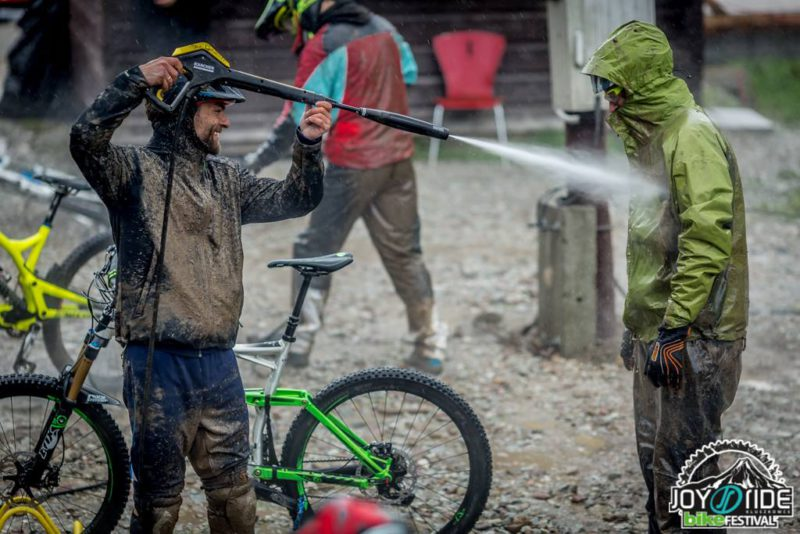 Joy Ride Festiwal Kluszkowce - myjka