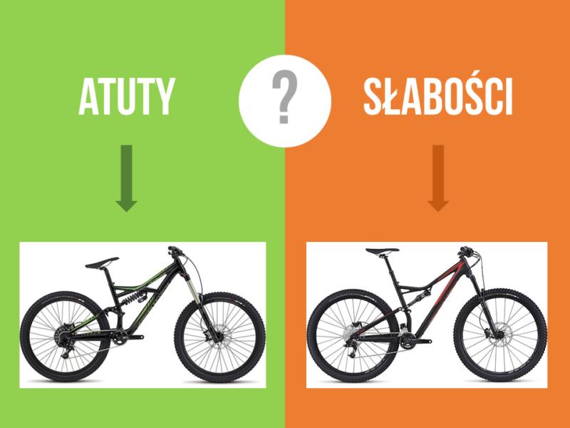 Dobór roweru enduro - wzmacnianie słabości