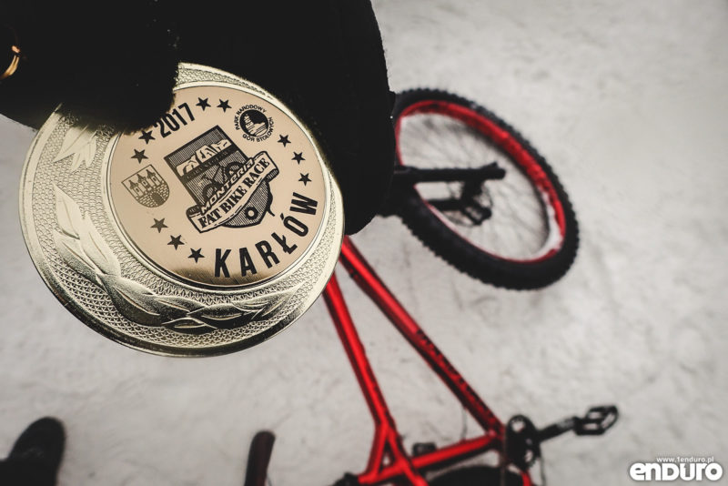 Fat Bike Race 2017 medal