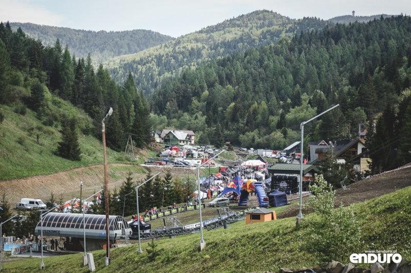 Joy Ride Festiwal Kluszkowce - miasteczko zawodów