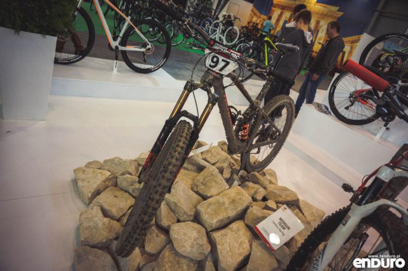 Romet enduro carbon Marcin Motyka - Kielce Bike Expo