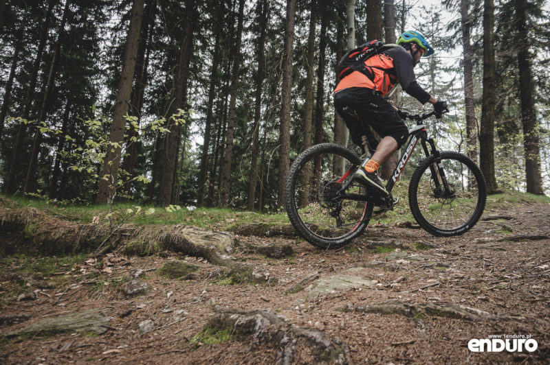 Test Kross Dust 3.0 - podjazdy