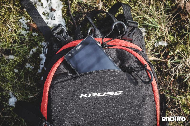 Plecak Kross Pickup 15l - przednia kieszeń