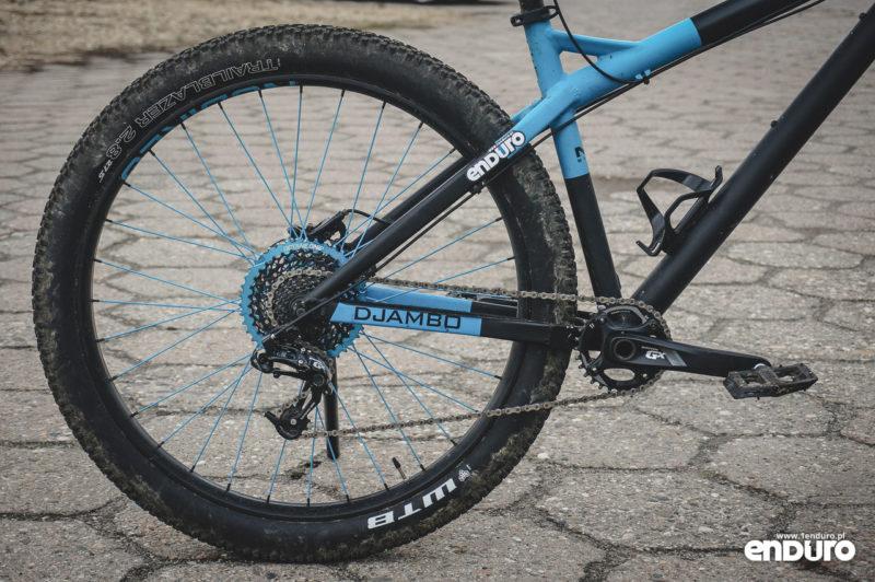 NS Bikes Djambo - tylny trójkąt