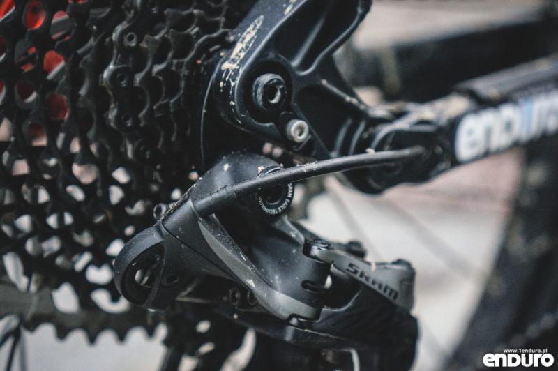 Przygotowanie roweru do zimy - pancerz przerzutki