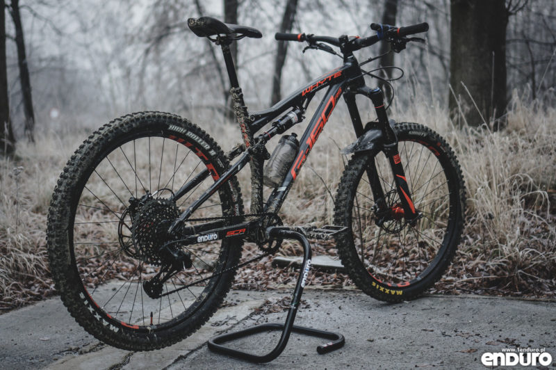 Przygotowanie roweru do zimy - Whyte G-160 RS