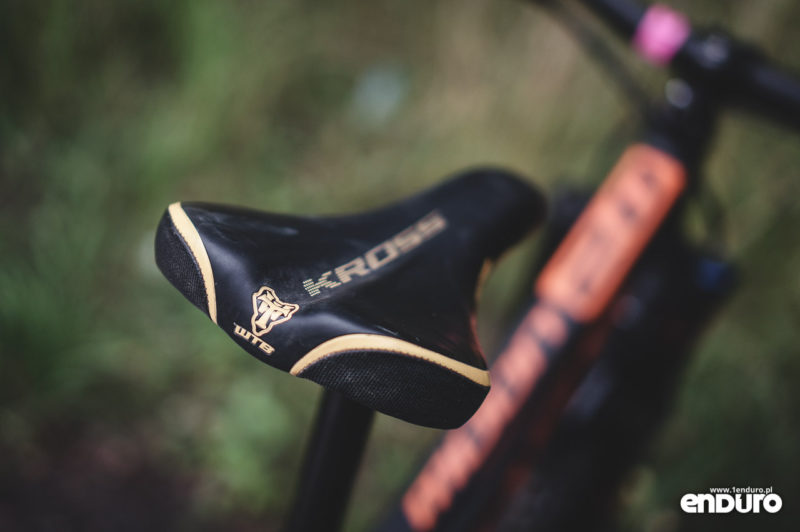 Regulacja siodełka rowerowego MTB enduro
