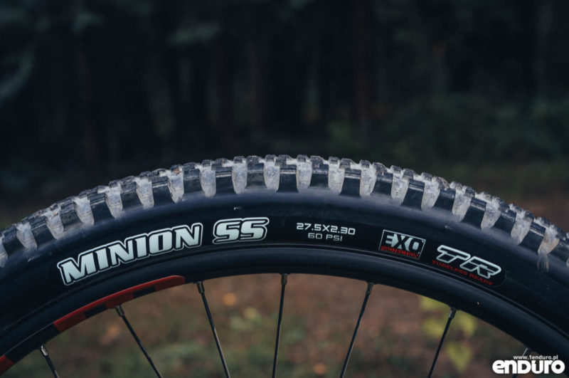 Whyte G-160 RS 2017 - Maxxis Minion SS Exo