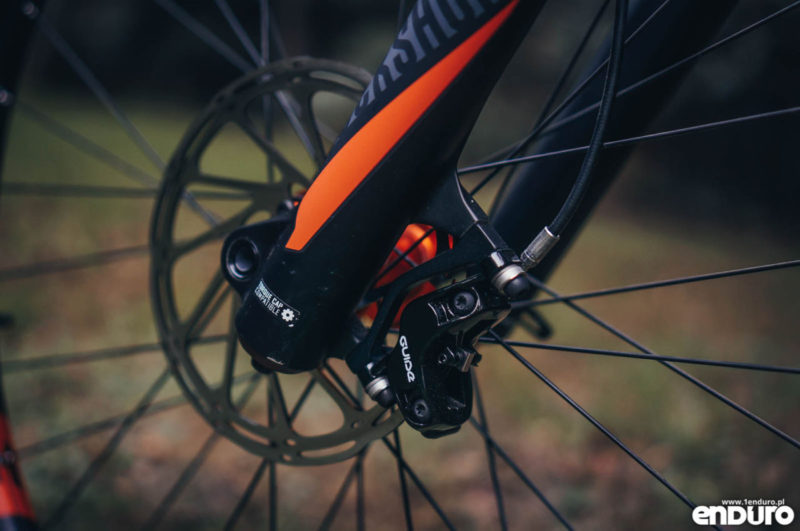 Whyte G-160 RS 2017 - SRAM Guide R 4-pot