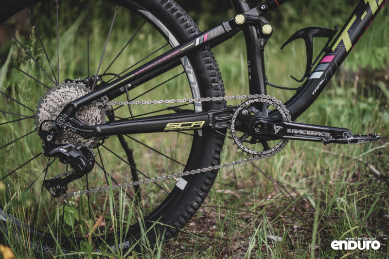 Whyte T-130 RS - napęd Shimano XT M8000