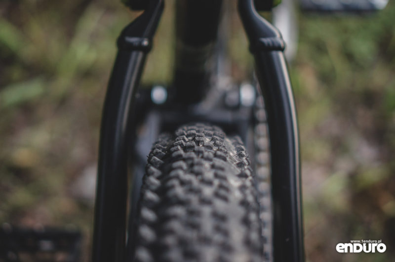 Whyte T-130 RS - miejsce na oponę