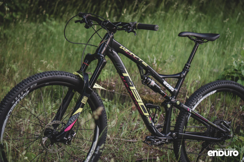 Whyte T-130 RS - rama lewa 1