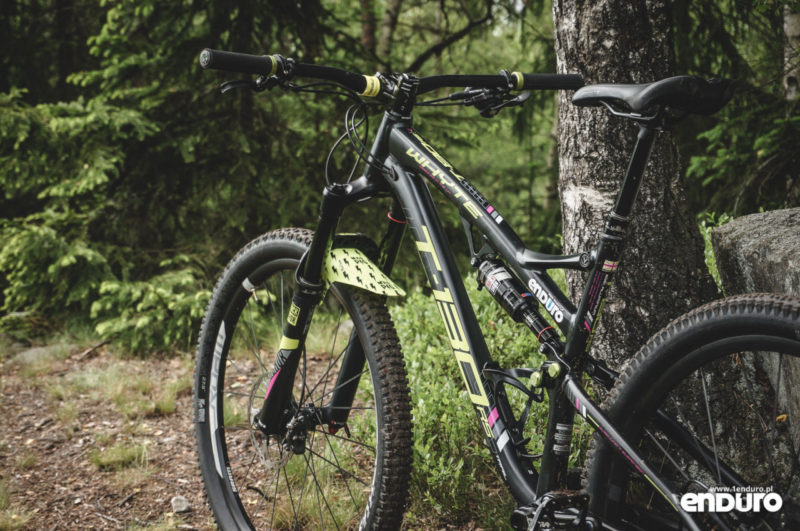 Whyte T-130 RS test - rama lewa