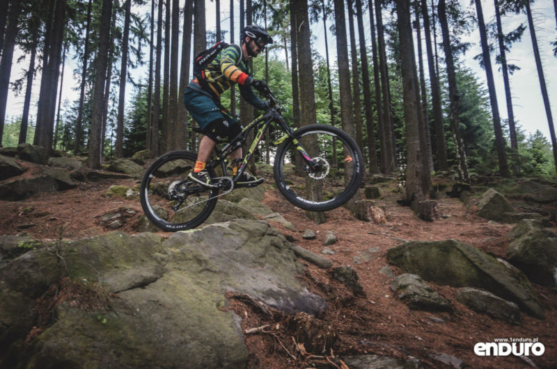 Whyte T-130 RS test - drop