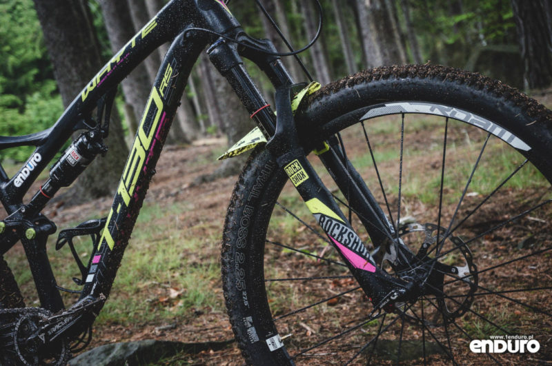 Whyte T-130 RS test - Rock Shox Pike RC