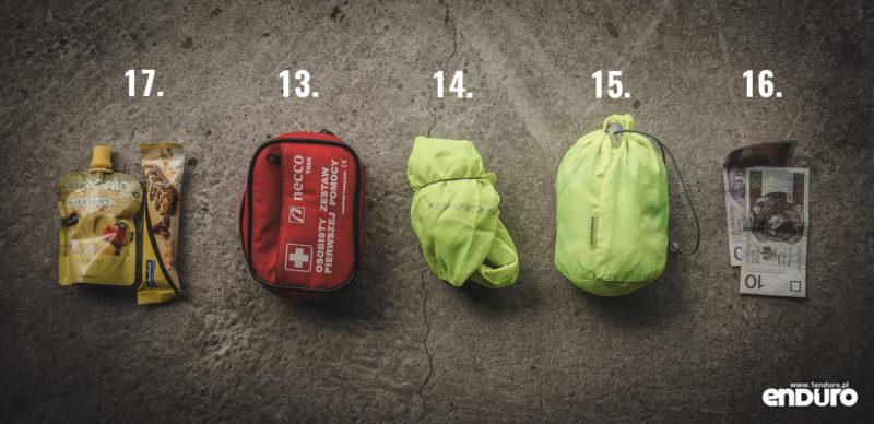 Plecak enduro - co spakować - zestaw awaryjny
