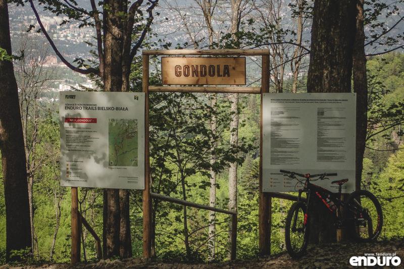 Enduro Trails Bielsko Biała Gondola