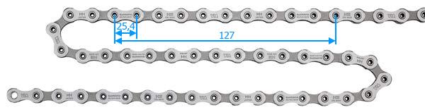 Pomiar zużycia łańcucha rowerowego