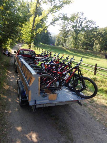 Trasy Enduro Srebrna Góra - transport