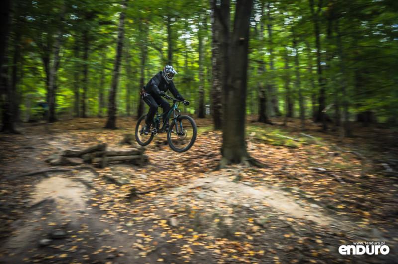 Ścieżki Enduro Trails Bielsko - DH hopa