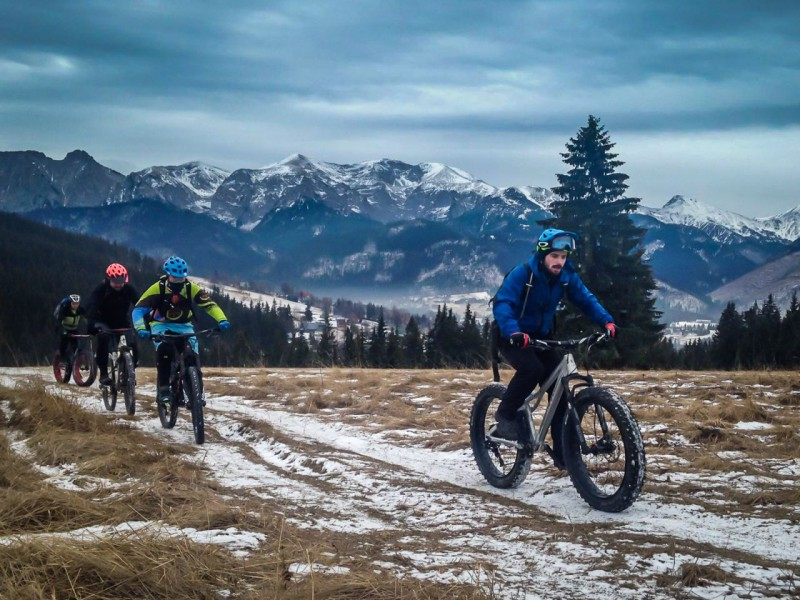 Fat bike - enduro Tatry