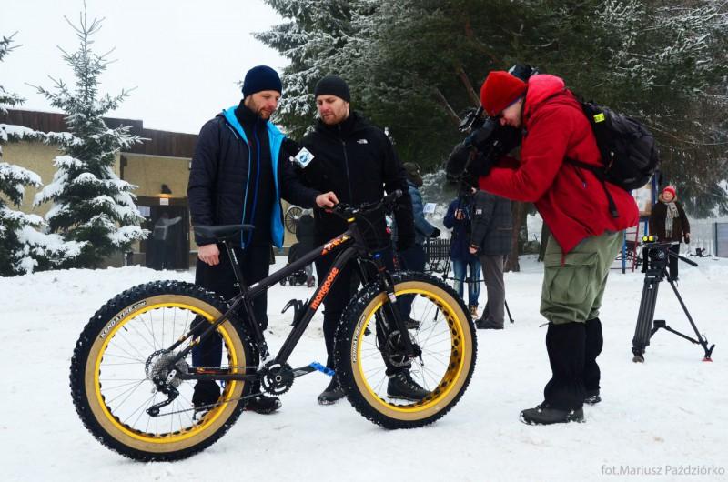 Fat Bike Race Góry Stołowe TVN