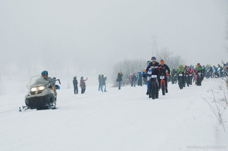 Fat Bike Race Góry Stołowe start