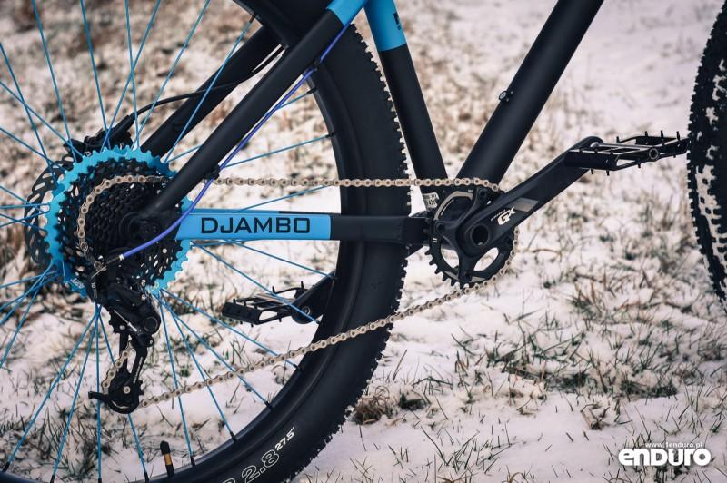 NS Bikes Eccentric Djambo - napęd SRAM GX 1x10