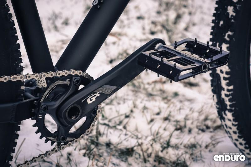 NS Bikes Eccentric Djambo - korba SRAM GX-100 30T
