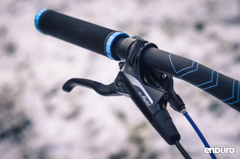 NS Bikes Eccentric Djambo - klamka SRAM DB-3