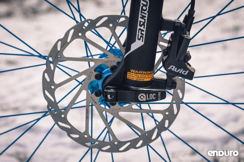 NS Bikes Eccentric Djambo - SRAM DB-3, Suntour Q-Loc