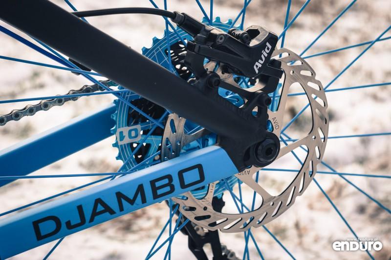 NS Bikes Eccentric Djambo - SRAM DB-3 zacisk